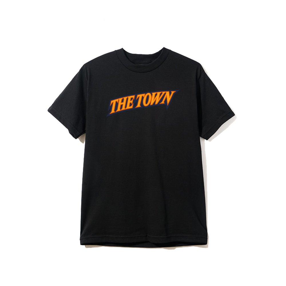 Image of THE TOWN TEE (BLACK)