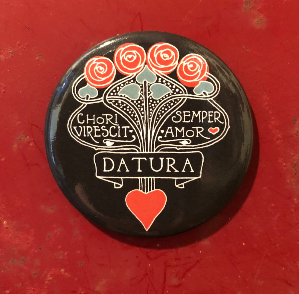 "Image of ""Daturamour"" Magnet"