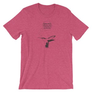 Image of Hummingbird - unisex/men's tee