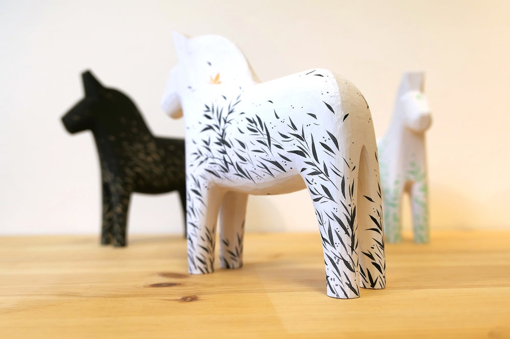 Image of Wild Wind - 'Sumi' Dala Horse