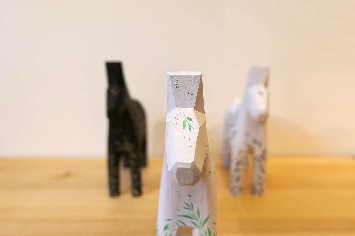 Wild Wind - 'Jade' Dala Horse