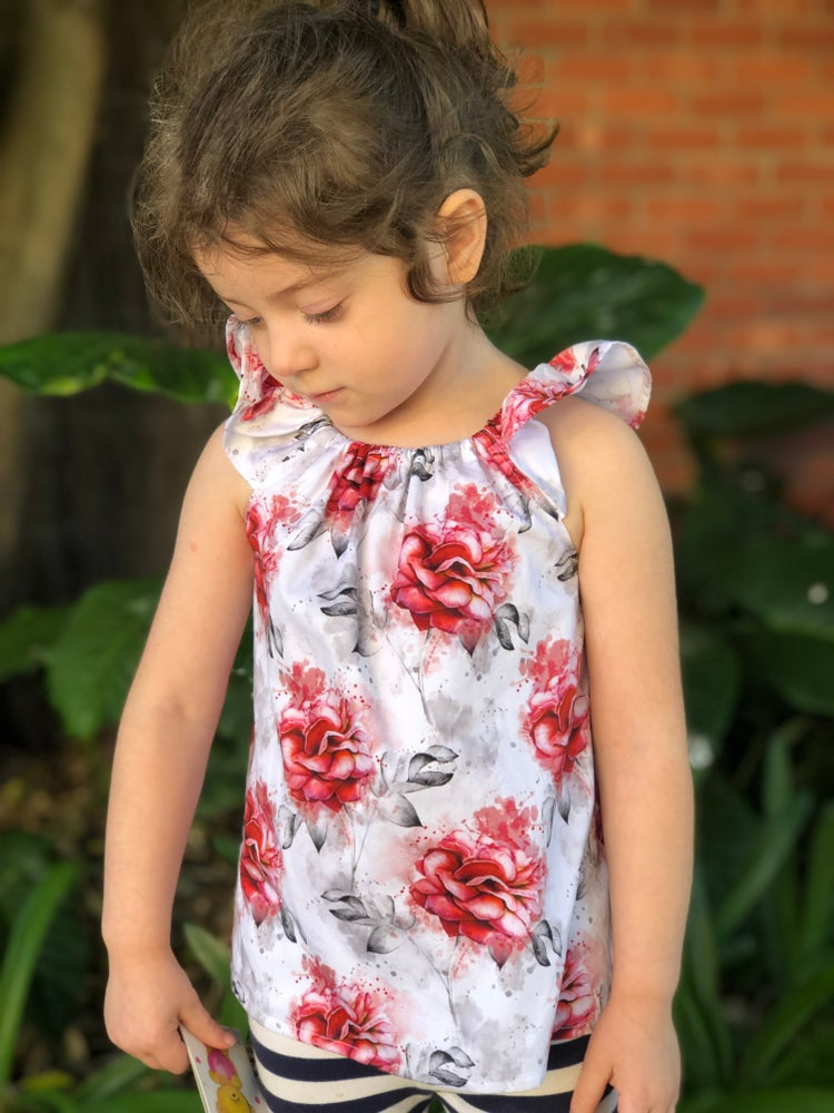 Image of  Christmas floral top