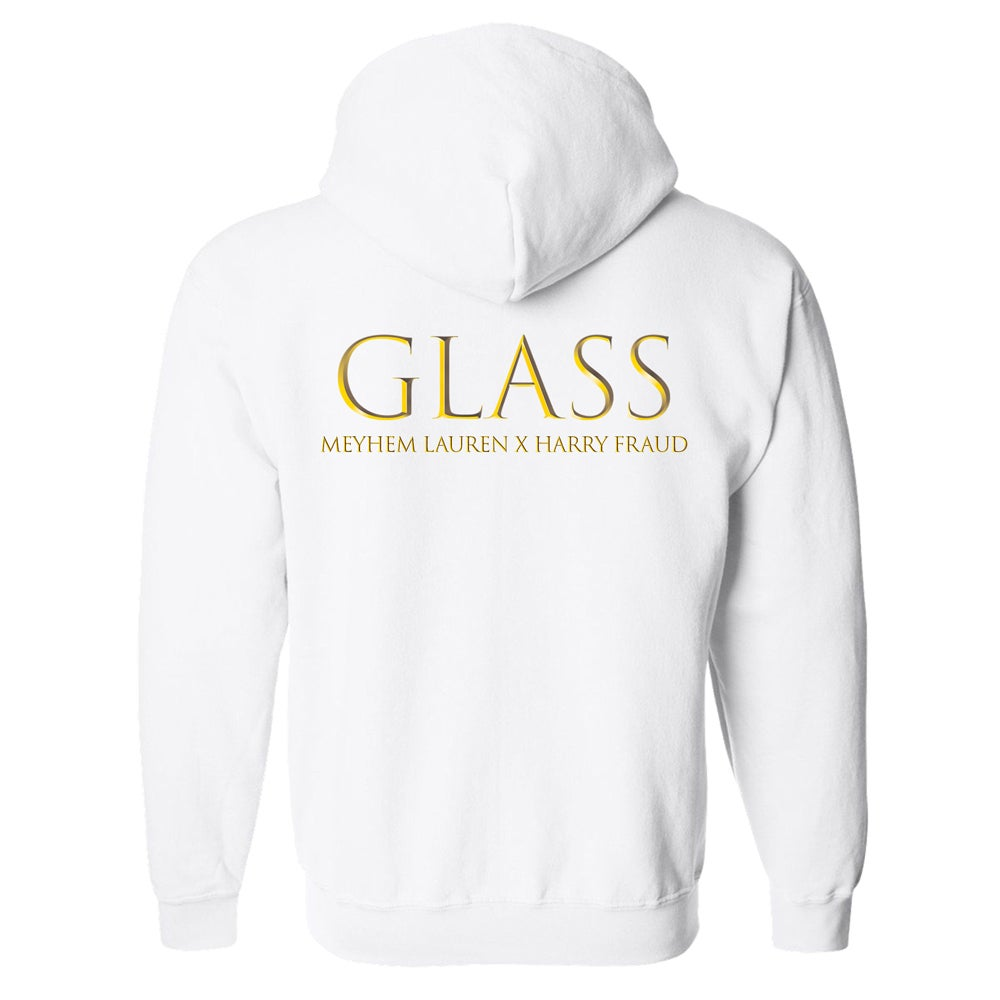 "Image of 550 X Meyhem Lauren X Harry Fraud - ""GLASS"" Hoody's"