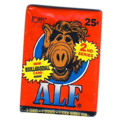 Image of ALF (ALIEN LIFE FORM) TRADING CARDS - 1987 - SERIES 1 & 2