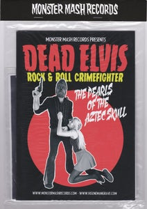 "Image of 7"" + Comic Book. Dead Elvis : Pearls Of The Aztec Skull. Ltd Edition EP."