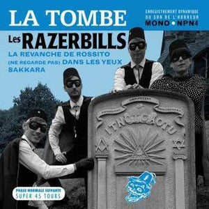 "Image of 7"" EP. The Razerbills : La Tombe +3."