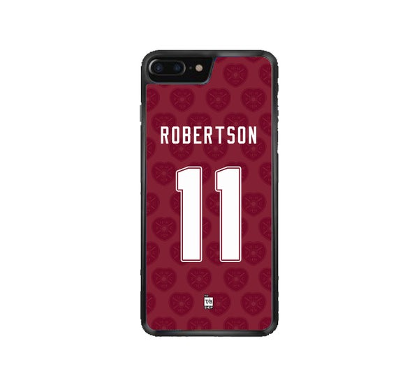 Image of Hearts 1991-92 home shirt phone case