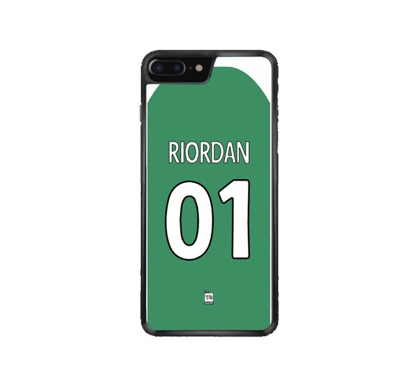 Image of Hibs 2008-09 home shirt phone case