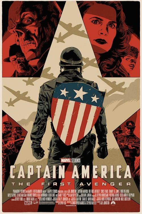 Image of Captain America First Avengers (Mondo) - Artist Proof