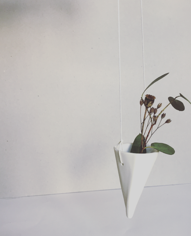 Image of Hanging Conical Vase