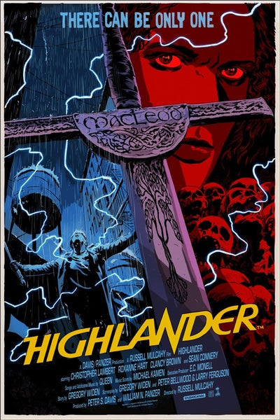 Image of Highlander (Mondo) - Artist Proof