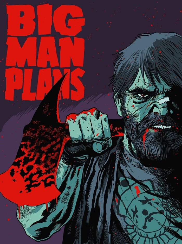 Image of Big Man Plans (Mondo) - Artist Proof