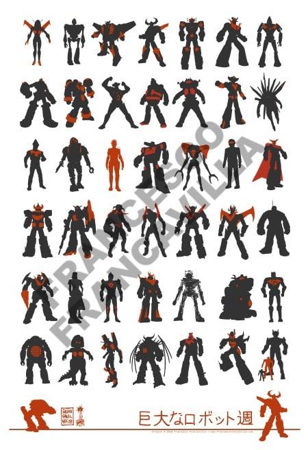 Image of Giant Robots - DesignerCon 2018 Exclusive Print