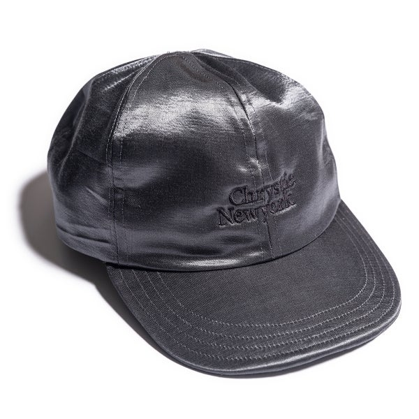 Image of Chrystie NYC X Falcon Bowse Hat / Dark Grey Satin