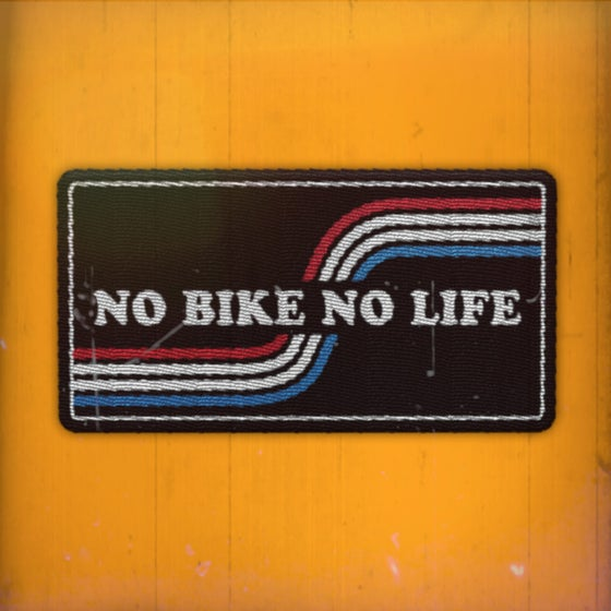 Image of No Bike No Life. Blue ed.