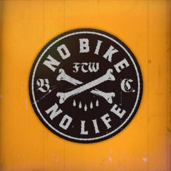 Image of No Bike No Life round