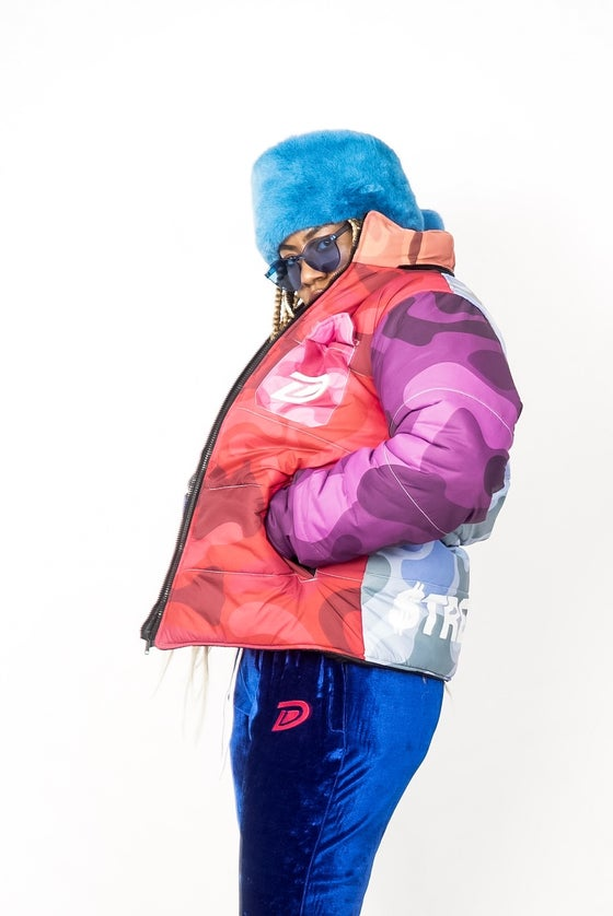Image of DAFT! CAMOUFLAGE COAT (PRE-ORDER)