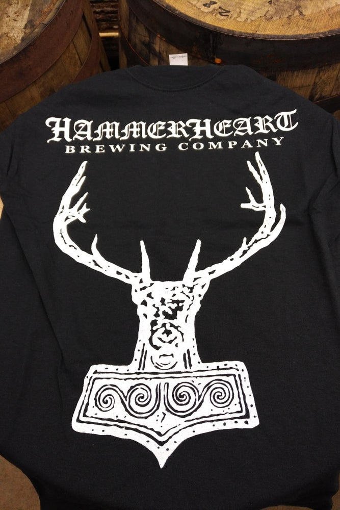 Image of HammerHeart Classic w/Minnesota River Map on Back