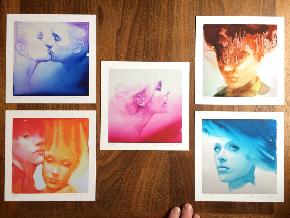 Image of Sampler set of prints #1 signed