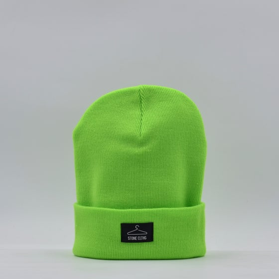 Image of Beanie Fluo Green