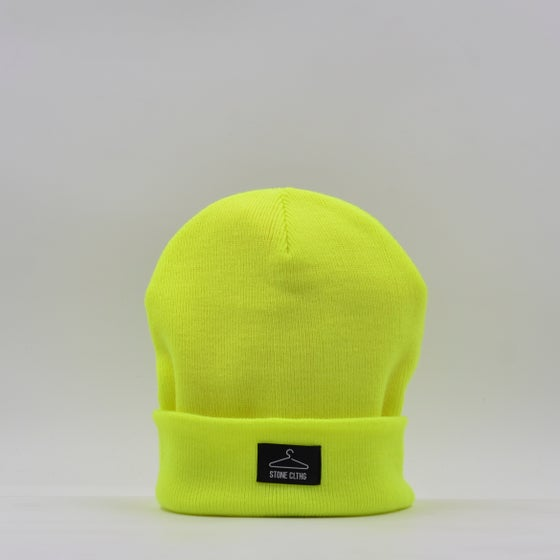 Image of Beanie Fluo Yellow