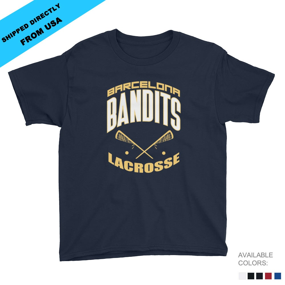 Image of Youth Team Bandits T-shirt - Navy