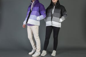 Image of Purple Gradient Puffer