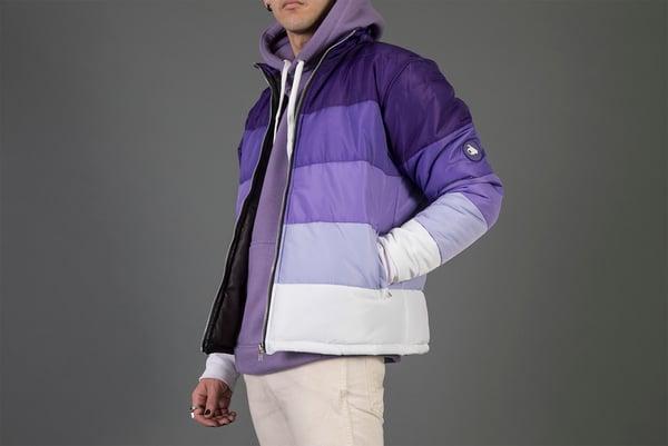 Image of Purple Gradient Puffer