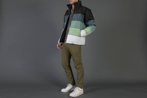 Image of Green Tint Gradient Puffer