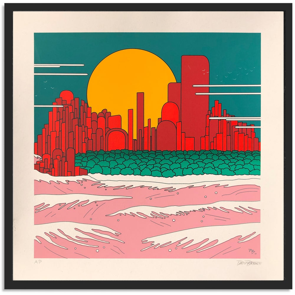 "Image of ""Landscape"" Silkscreen Print by David Barnett"