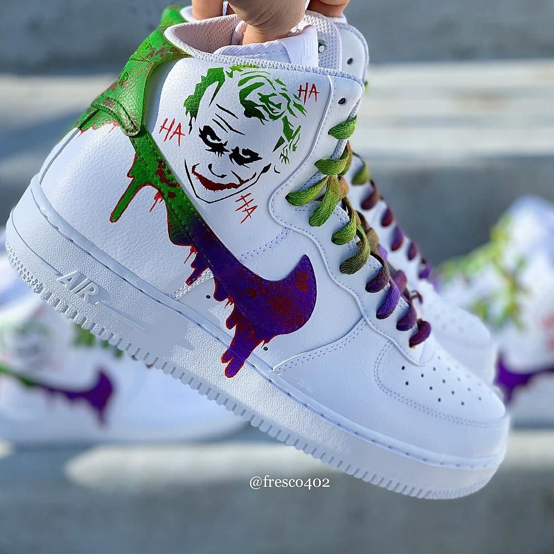 The Joker Custom Shoes   Fresco Customs
