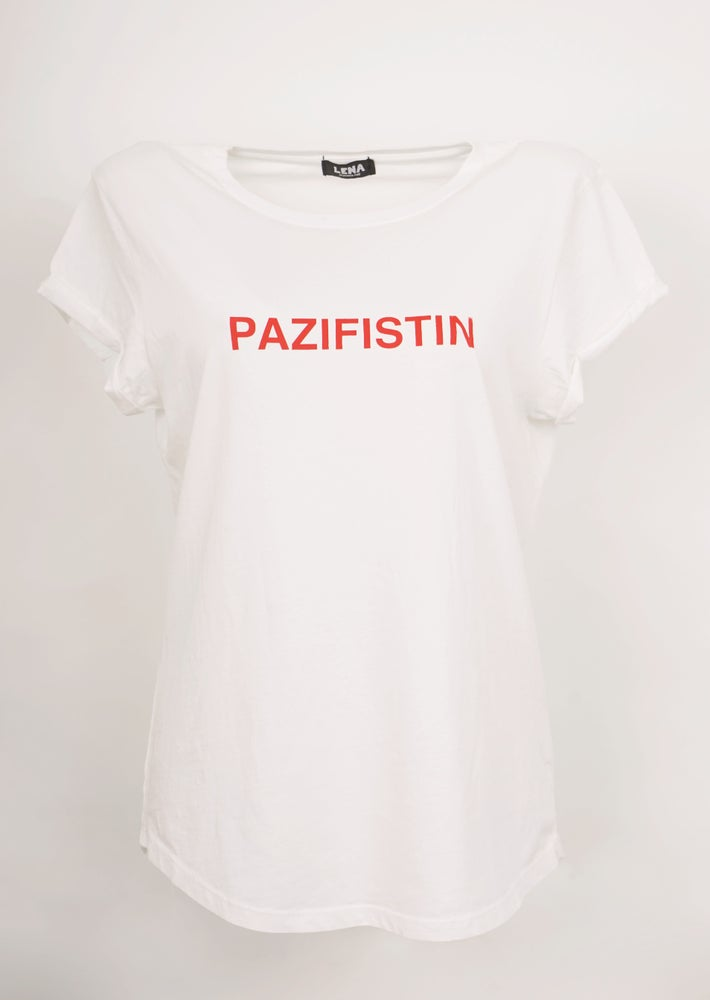 Image of PAZIFISTIN Shirt weiss