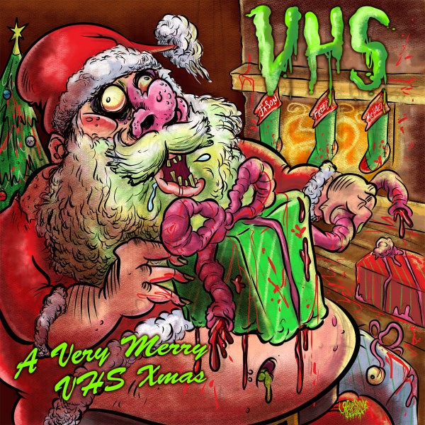 Image of VHS - A Very Merry VHS Xmas - Cassette (Pre-Order)