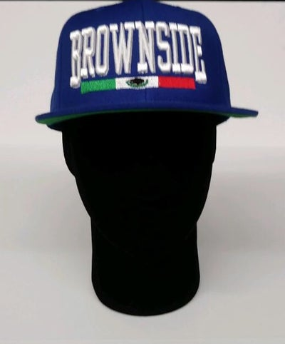 Image of BROWNSIDE LOGO SNAPBACK