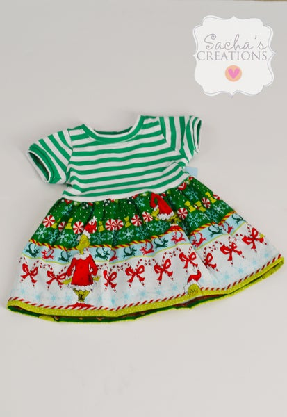 Image of Green Grinch Dress
