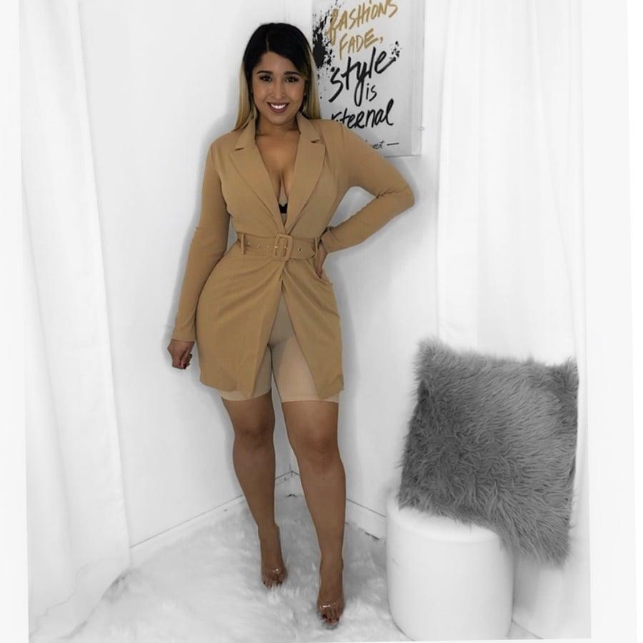 Image of Business girl blazer