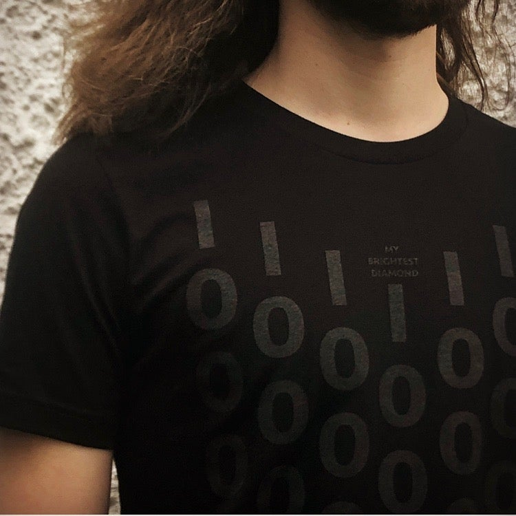 Image of A Million And One - Black on Black Tee