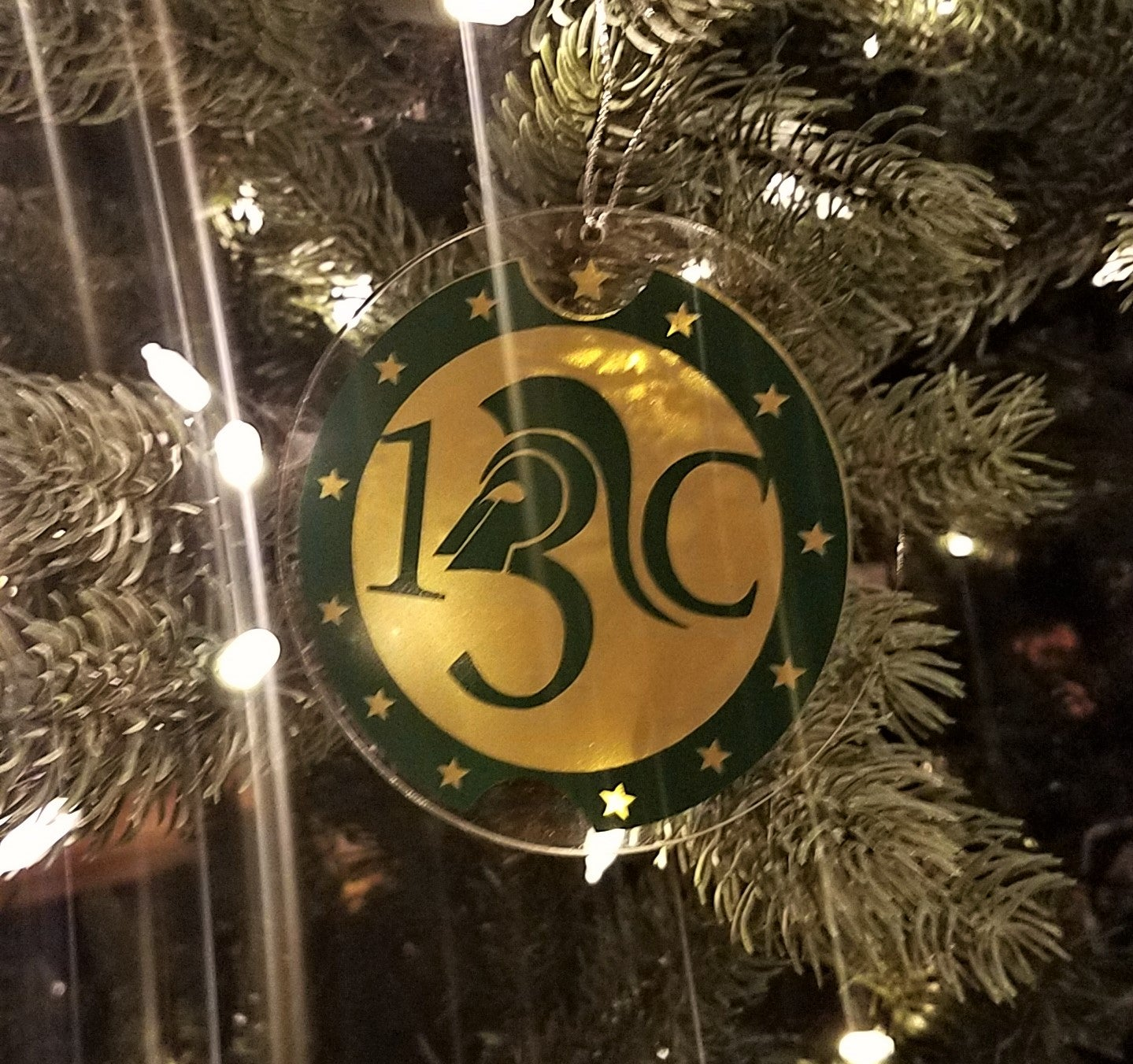 Image of Handmade 13C Christmas Ornament