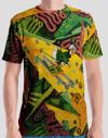 Work $marter Mc. Buck$ Full Bodied Print Shirt