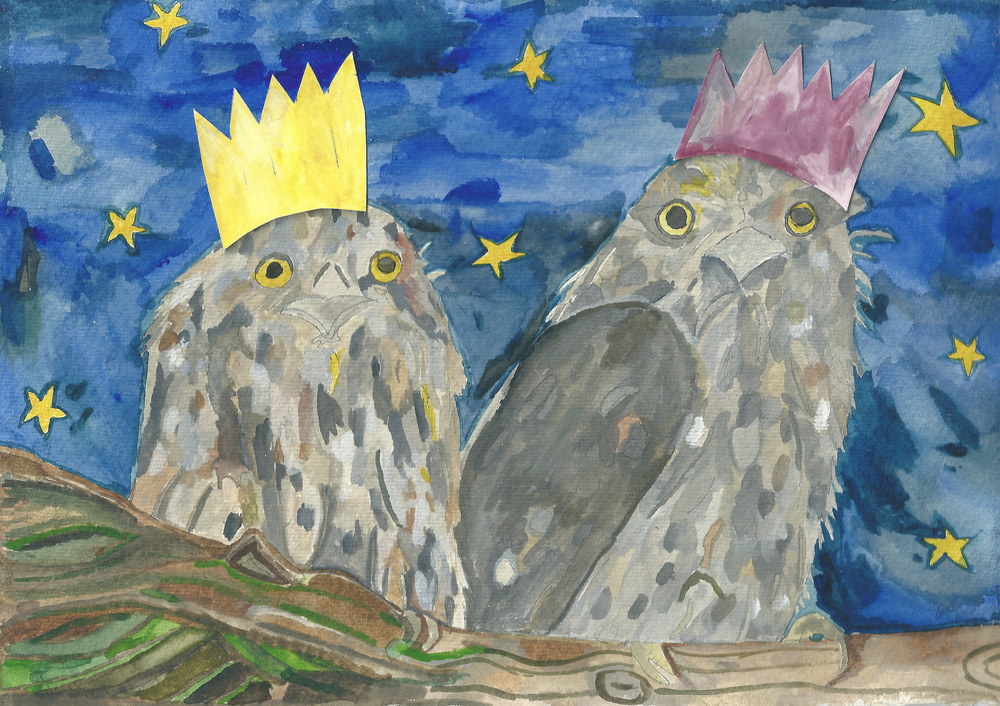 Image of Party Tawnies - A Greeting Card