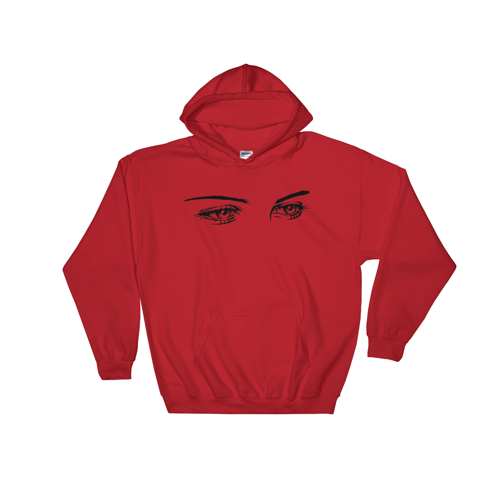 Image of SPIN Eye Hoodie Red