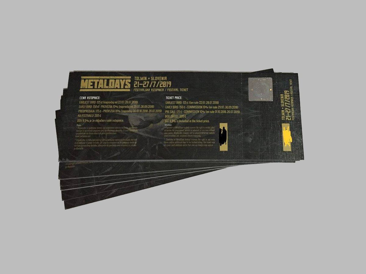 Image of MetalDays 2019 Ticket