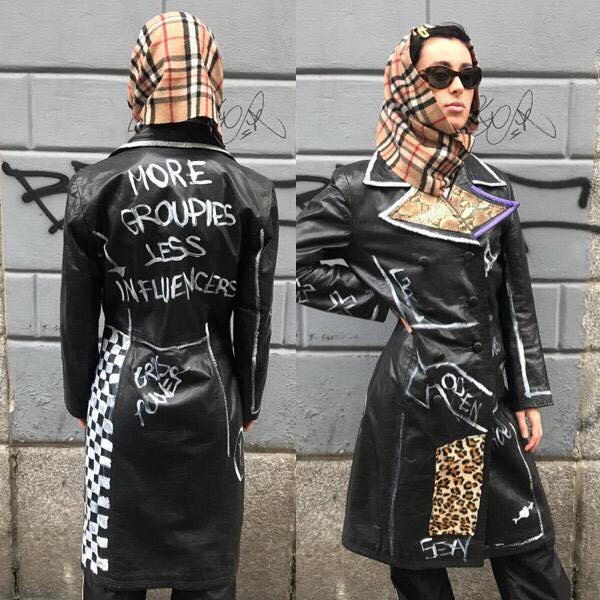 Image of MORE GROUPIES LEATHER JACKET