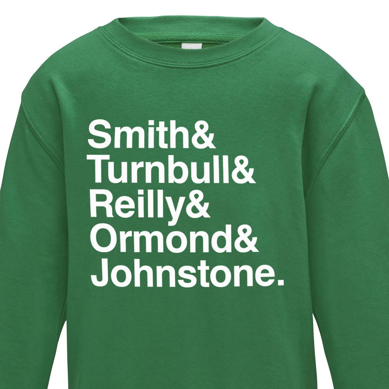 Image of The Famous Five – Kelly Green Jumper