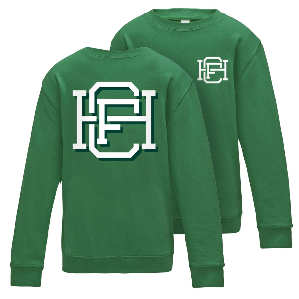 Image of Varsity HFC – Kelly Green Jumper