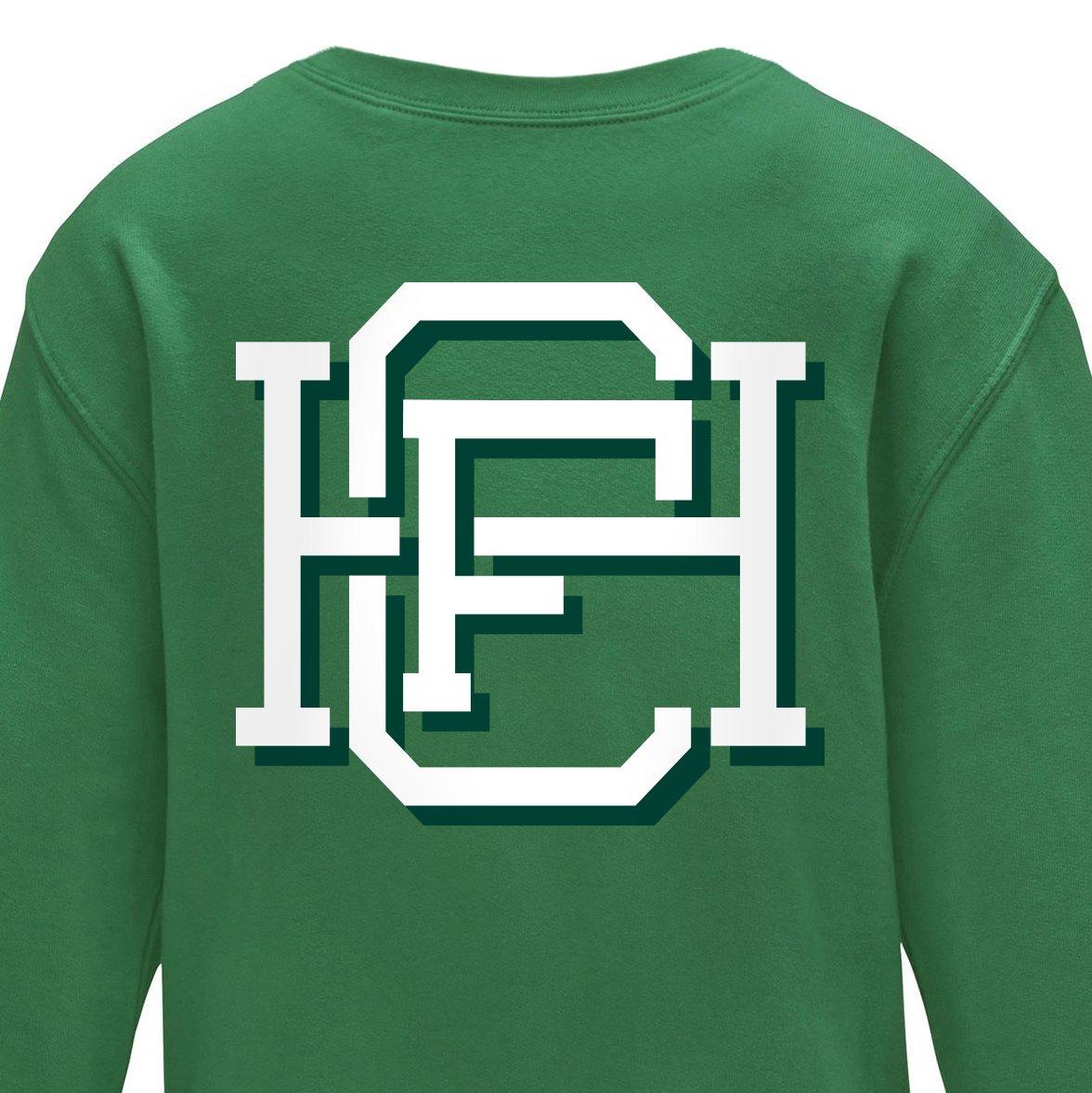 Image of Varsity HFC – Kelly Green Jumper