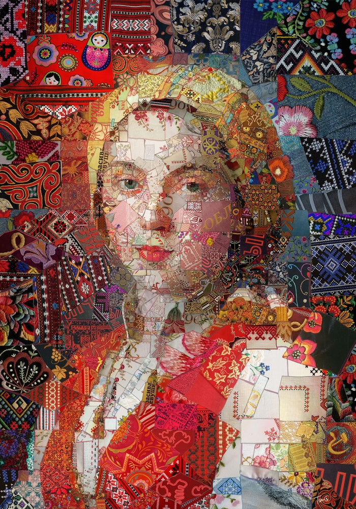 Image of Russia (Limited edition digital mosaic on paper)
