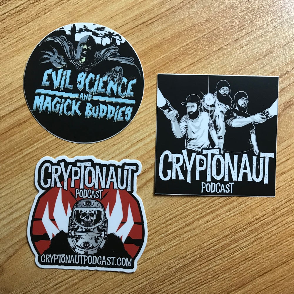 Image of Cryptonaut Podcast Sticker Pack