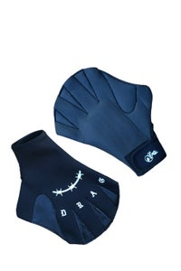 Image of HAND DRAG WEBBED GLOVES