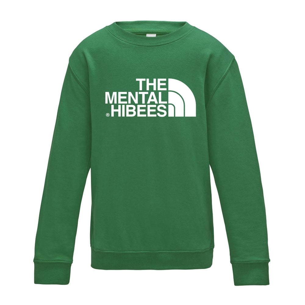 Image of The Mental Hibees – Kelly Green Jumper